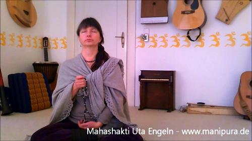 Bija-Mala-Meditation – beobachte Mahashakti bei der Meditation
