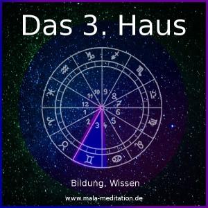 3. Haus Astrologie