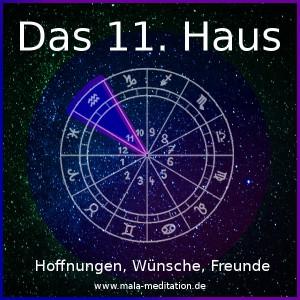 11. Haus Astrologie