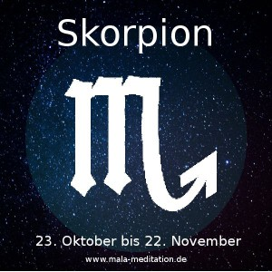 Skorpion Astrologie