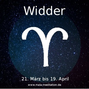 Widder Astrologie